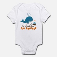 Big Brother to be - Mod Whale Onesie