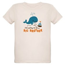 Big Brother to be - Mod Whale T-Shirt