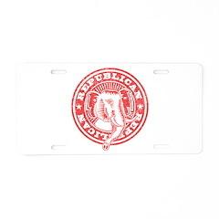 Elephant Seal 2 Aluminum License Plate