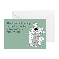 Up For Adoption Greeting Card