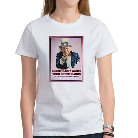 L Ron Hubbard and Scientology Women's T-Shirt