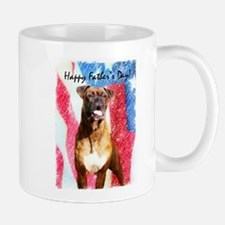 Happy Father's Day Boxer Mug