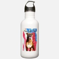 Happy Father's Day Boxer Water Bottle
