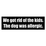Pets Bumper Stickers