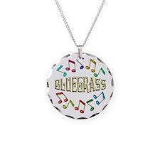 Golden Bluegrass Necklace