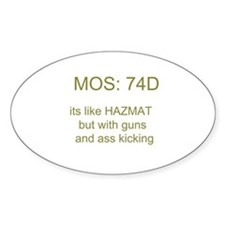 74D Decal