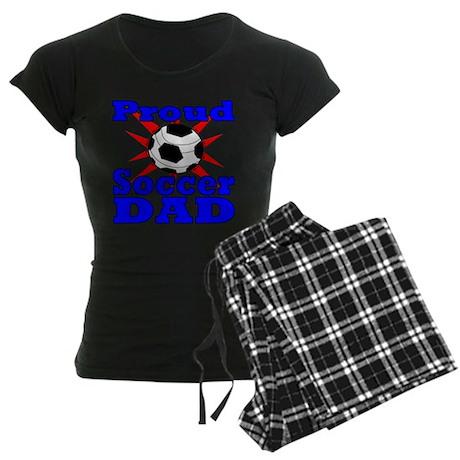 Proud Soccer Dad Women's Dark Pajamas