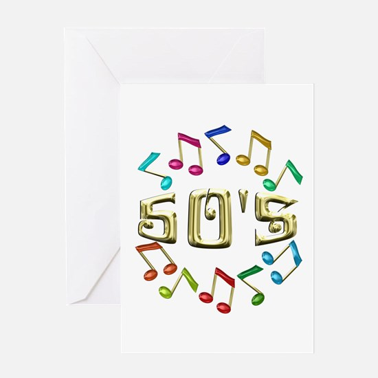 Golden 50s Greeting Card