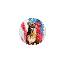 Boxer Dog Mini Button