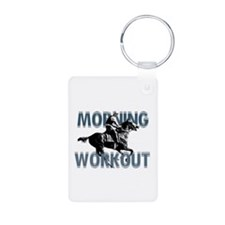 The Morning Workout Keychains
