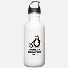 World's Greatest Dad Penguin Water Bottle