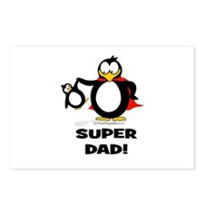 Super Dad Penguin Postcards (Package of 8)