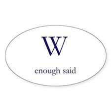 W Decal