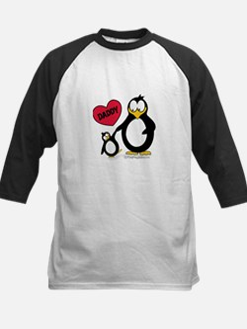 Heart Daddy Penguin Tee