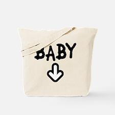 Baby Arrow Tote Bag