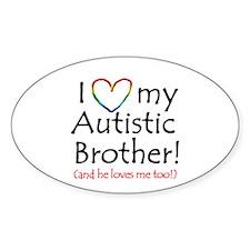 Autism Awareness - Oval Decal