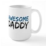 Awesome Daddy Large Mug