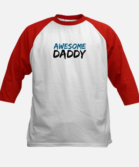 Awesome Daddy Kids Baseball Jersey