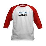 Awesome Daddy Kids Baseball Jersey