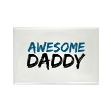 Awesome Daddy Rectangle Magnet
