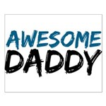 Awesome Daddy Small Poster