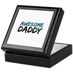 Awesome Daddy Keepsake Box