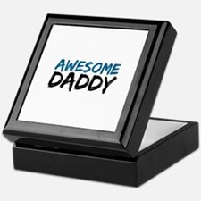 Awesome Daddy Keepsake Box