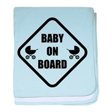 Baby On Board Stroller baby blanket