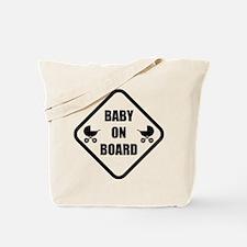 Baby On Board Stroller Tote Bag