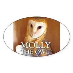 MOLLY THE OWL Decal