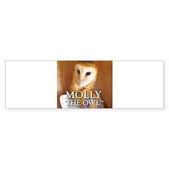 MOLLY THE OWL Bumper Sticker