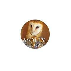 MOLLY THE OWL Mini Button (10 pack)