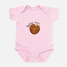 Infant Pink BITE ME Bodysuit