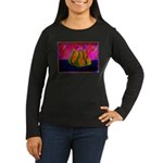 Three Pears Women's Long Sleeve Dark T-Shirt