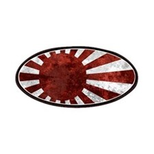 Japanese Rising Sun Flag Patches