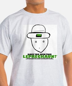 Leprechaun tee - Ash Grey T-Shirt