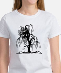 Weeping Willow Tree Women's T-Shirt