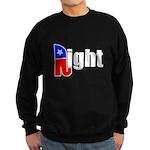 Republican Right White Sweatshirt (dark)