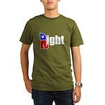 Republican Right White Organic Men's T-Shirt (dark