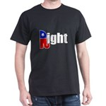 Republican Right White Dark T-Shirt