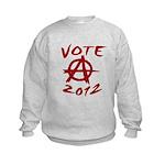 Anarchy 2012 red Kids Sweatshirt
