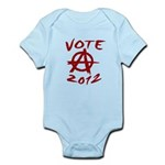 Anarchy 2012 red Infant Bodysuit