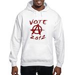 Anarchy 2012 red Hooded Sweatshirt