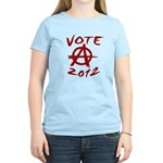 Anarchy 2012 red Women's Light T-Shirt
