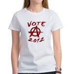 Anarchy 2012 red Women's T-Shirt