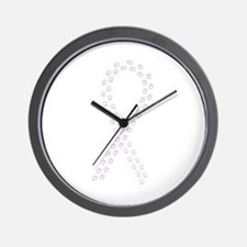 Orchid Paws Cure Wall Clock