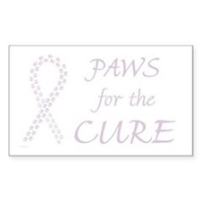 Orchid Paws Cure Rectangle Decal