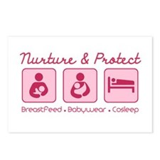 Unique Breastfeeding Postcards (Package of 8)