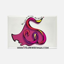 I-SuperWoman Rectangle Magnet (100 pack)