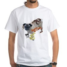 Snakes on Pug Shirt